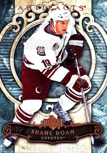 2007-08 UD Artifacts #98 Shane Doan<br/>5 In Stock - $1.00 each - <a href=https://centericecollectibles.foxycart.com/cart?name=2007-08%20UD%20Artifacts%20%2398%20Shane%20Doan...&quantity_max=5&price=$1.00&code=134136 class=foxycart> Buy it now! </a>