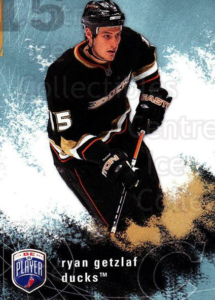 2007-08 Be A Player #1 Ryan Getzlaf<br/>3 In Stock - $1.00 each - <a href=https://centericecollectibles.foxycart.com/cart?name=2007-08%20Be%20A%20Player%20%231%20Ryan%20Getzlaf...&quantity_max=3&price=$1.00&code=134138 class=foxycart> Buy it now! </a>