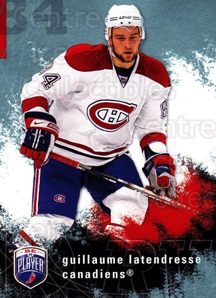 2007-08 Be A Player #107 Guillaume Latendresse<br/>4 In Stock - $1.00 each - <a href=https://centericecollectibles.foxycart.com/cart?name=2007-08%20Be%20A%20Player%20%23107%20Guillaume%20Laten...&quantity_max=4&price=$1.00&code=134147 class=foxycart> Buy it now! </a>