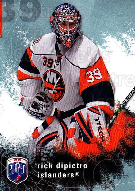 2007-08 Be A Player #120 Rick DiPietro<br/>3 In Stock - $1.00 each - <a href=https://centericecollectibles.foxycart.com/cart?name=2007-08%20Be%20A%20Player%20%23120%20Rick%20DiPietro...&quantity_max=3&price=$1.00&code=134161 class=foxycart> Buy it now! </a>
