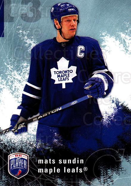 2007-08 Be A Player #180 Mats Sundin<br/>3 In Stock - $2.00 each - <a href=https://centericecollectibles.foxycart.com/cart?name=2007-08%20Be%20A%20Player%20%23180%20Mats%20Sundin...&quantity_max=3&price=$2.00&code=134226 class=foxycart> Buy it now! </a>