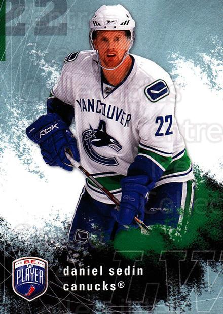 2007-08 Be A Player #189 Daniel Sedin<br/>3 In Stock - $2.00 each - <a href=https://centericecollectibles.foxycart.com/cart?name=2007-08%20Be%20A%20Player%20%23189%20Daniel%20Sedin...&quantity_max=3&price=$2.00&code=134235 class=foxycart> Buy it now! </a>