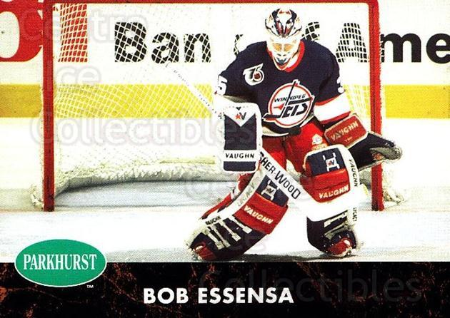 1991-92 Parkhurst #199 Bob Essensa<br/>4 In Stock - $1.00 each - <a href=https://centericecollectibles.foxycart.com/cart?name=1991-92%20Parkhurst%20%23199%20Bob%20Essensa...&quantity_max=4&price=$1.00&code=13425 class=foxycart> Buy it now! </a>