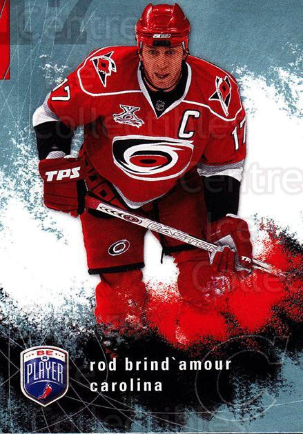 2007-08 Be A Player #36 Rod Brind'Amour<br/>4 In Stock - $1.00 each - <a href=https://centericecollectibles.foxycart.com/cart?name=2007-08%20Be%20A%20Player%20%2336%20Rod%20Brind'Amour...&quantity_max=4&price=$1.00&code=134264 class=foxycart> Buy it now! </a>