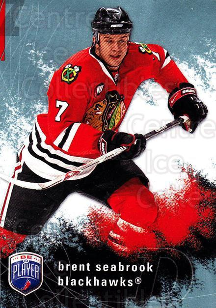 2007-08 Be A Player #44 Brent Seabrook<br/>4 In Stock - $1.00 each - <a href=https://centericecollectibles.foxycart.com/cart?name=2007-08%20Be%20A%20Player%20%2344%20Brent%20Seabrook...&quantity_max=4&price=$1.00&code=134272 class=foxycart> Buy it now! </a>