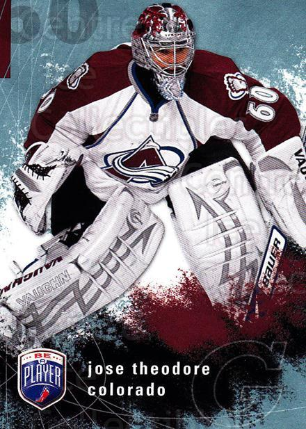 2007-08 Be A Player #49 Jose Theodore<br/>4 In Stock - $1.00 each - <a href=https://centericecollectibles.foxycart.com/cart?name=2007-08%20Be%20A%20Player%20%2349%20Jose%20Theodore...&quantity_max=4&price=$1.00&code=134276 class=foxycart> Buy it now! </a>