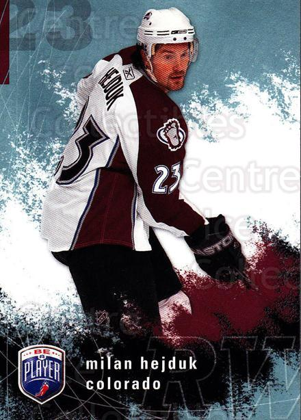 2007-08 Be A Player #51 Milan Hejduk<br/>4 In Stock - $1.00 each - <a href=https://centericecollectibles.foxycart.com/cart?name=2007-08%20Be%20A%20Player%20%2351%20Milan%20Hejduk...&quantity_max=4&price=$1.00&code=134279 class=foxycart> Buy it now! </a>