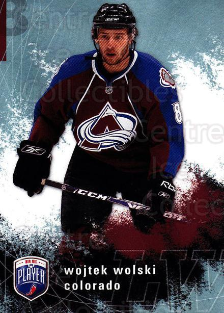2007-08 Be A Player #54 Wojtek Wolski<br/>4 In Stock - $1.00 each - <a href=https://centericecollectibles.foxycart.com/cart?name=2007-08%20Be%20A%20Player%20%2354%20Wojtek%20Wolski...&quantity_max=4&price=$1.00&code=134282 class=foxycart> Buy it now! </a>