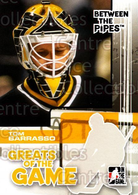2007-08 Between The Pipes #87 Tom Barrasso<br/>30 In Stock - $1.00 each - <a href=https://centericecollectibles.foxycart.com/cart?name=2007-08%20Between%20The%20Pipes%20%2387%20Tom%20Barrasso...&price=$1.00&code=134370 class=foxycart> Buy it now! </a>