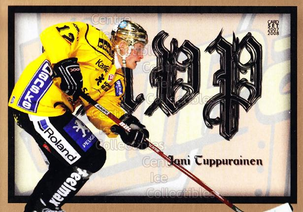 2007-08 Finnish Cardset MVP #7 Jani Tuppurainen<br/>11 In Stock - $3.00 each - <a href=https://centericecollectibles.foxycart.com/cart?name=2007-08%20Finnish%20Cardset%20MVP%20%237%20Jani%20Tuppuraine...&price=$3.00&code=134576 class=foxycart> Buy it now! </a>