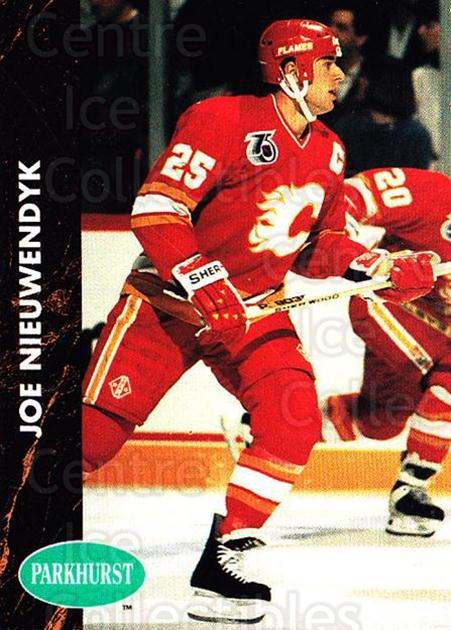 1991-92 Parkhurst #23 Joe Nieuwendyk<br/>5 In Stock - $1.00 each - <a href=https://centericecollectibles.foxycart.com/cart?name=1991-92%20Parkhurst%20%2323%20Joe%20Nieuwendyk...&quantity_max=5&price=$1.00&code=13458 class=foxycart> Buy it now! </a>