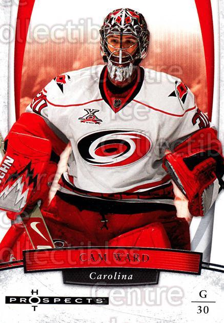 2007-08 Hot Prospects #13 Cam Ward<br/>8 In Stock - $1.00 each - <a href=https://centericecollectibles.foxycart.com/cart?name=2007-08%20Hot%20Prospects%20%2313%20Cam%20Ward...&price=$1.00&code=134941 class=foxycart> Buy it now! </a>