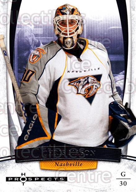 2007-08 Hot Prospects #15 Chris Mason<br/>8 In Stock - $1.00 each - <a href=https://centericecollectibles.foxycart.com/cart?name=2007-08%20Hot%20Prospects%20%2315%20Chris%20Mason...&quantity_max=8&price=$1.00&code=134943 class=foxycart> Buy it now! </a>