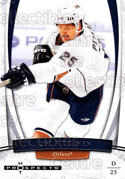 2007-08 Hot Prospects #44 Joni Pitkanen<br/>6 In Stock - $1.00 each - <a href=https://centericecollectibles.foxycart.com/cart?name=2007-08%20Hot%20Prospects%20%2344%20Joni%20Pitkanen...&quantity_max=6&price=$1.00&code=134981 class=foxycart> Buy it now! </a>