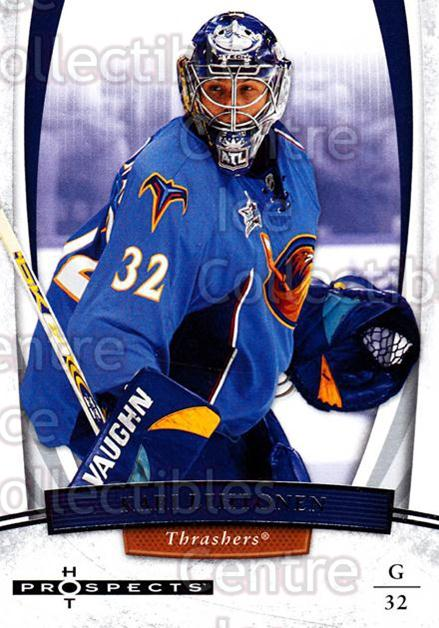 2007-08 Hot Prospects #47 Kari Lehtonen<br/>6 In Stock - $1.00 each - <a href=https://centericecollectibles.foxycart.com/cart?name=2007-08%20Hot%20Prospects%20%2347%20Kari%20Lehtonen...&quantity_max=6&price=$1.00&code=134984 class=foxycart> Buy it now! </a>