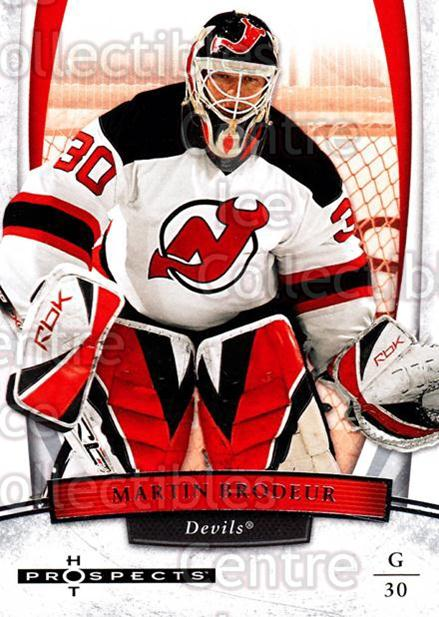 2007-08 Hot Prospects #54 Martin Brodeur<br/>12 In Stock - $2.00 each - <a href=https://centericecollectibles.foxycart.com/cart?name=2007-08%20Hot%20Prospects%20%2354%20Martin%20Brodeur...&quantity_max=12&price=$2.00&code=134991 class=foxycart> Buy it now! </a>