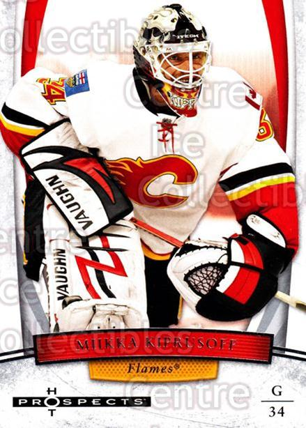 2007-08 Hot Prospects #60 Miikka Kiprusoff<br/>8 In Stock - $2.00 each - <a href=https://centericecollectibles.foxycart.com/cart?name=2007-08%20Hot%20Prospects%20%2360%20Miikka%20Kiprusof...&quantity_max=8&price=$2.00&code=134998 class=foxycart> Buy it now! </a>