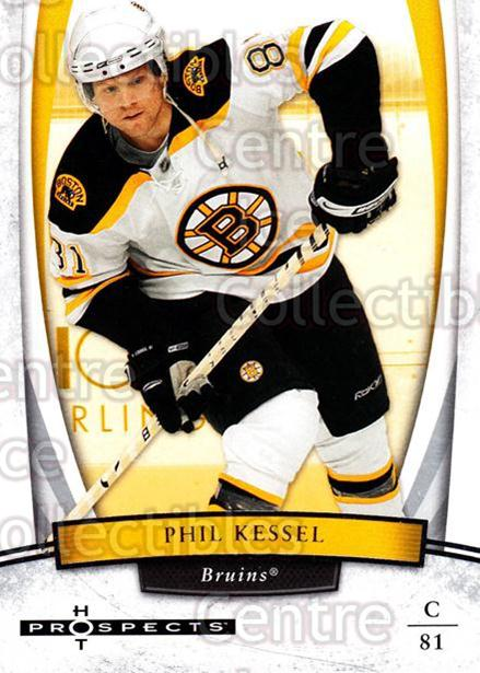 2007-08 Hot Prospects #78 Phil Kessel<br/>8 In Stock - $1.00 each - <a href=https://centericecollectibles.foxycart.com/cart?name=2007-08%20Hot%20Prospects%20%2378%20Phil%20Kessel...&quantity_max=8&price=$1.00&code=135015 class=foxycart> Buy it now! </a>