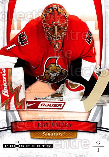 2007-08 Hot Prospects #79 Ray Emery<br/>8 In Stock - $1.00 each - <a href=https://centericecollectibles.foxycart.com/cart?name=2007-08%20Hot%20Prospects%20%2379%20Ray%20Emery...&quantity_max=8&price=$1.00&code=135016 class=foxycart> Buy it now! </a>