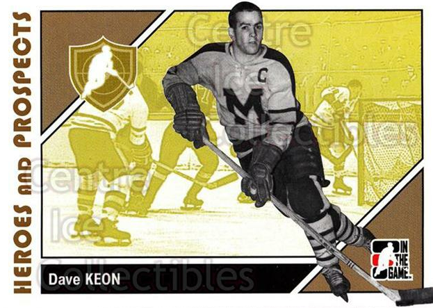 2007-08 ITG Heroes and Prospects #11 Dave Keon<br/>21 In Stock - $1.00 each - <a href=https://centericecollectibles.foxycart.com/cart?name=2007-08%20ITG%20Heroes%20and%20Prospects%20%2311%20Dave%20Keon...&price=$1.00&code=135040 class=foxycart> Buy it now! </a>