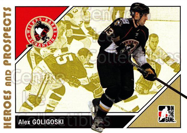 2007-08 ITG Heroes and Prospects #143 Alex Goligoski<br/>23 In Stock - $1.00 each - <a href=https://centericecollectibles.foxycart.com/cart?name=2007-08%20ITG%20Heroes%20and%20Prospects%20%23143%20Alex%20Goligoski...&price=$1.00&code=135044 class=foxycart> Buy it now! </a>