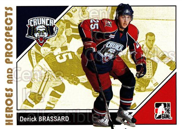 2007-08 ITG Heroes and Prospects #146 Derick Brassard<br/>24 In Stock - $1.00 each - <a href=https://centericecollectibles.foxycart.com/cart?name=2007-08%20ITG%20Heroes%20and%20Prospects%20%23146%20Derick%20Brassard...&price=$1.00&code=135047 class=foxycart> Buy it now! </a>