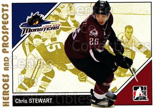 2007-08 ITG Heroes and Prospects #152 Chris Stewart<br/>23 In Stock - $1.00 each - <a href=https://centericecollectibles.foxycart.com/cart?name=2007-08%20ITG%20Heroes%20and%20Prospects%20%23152%20Chris%20Stewart...&price=$1.00&code=135053 class=foxycart> Buy it now! </a>
