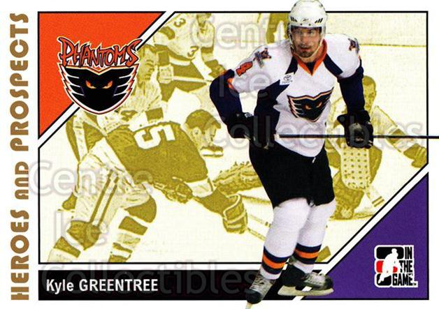 2007-08 ITG Heroes and Prospects #154 Kyle Greentree<br/>20 In Stock - $1.00 each - <a href=https://centericecollectibles.foxycart.com/cart?name=2007-08%20ITG%20Heroes%20and%20Prospects%20%23154%20Kyle%20Greentree...&price=$1.00&code=135055 class=foxycart> Buy it now! </a>