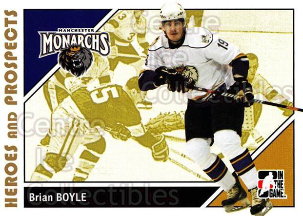 2007-08 ITG Heroes and Prospects #156 Brian Boyle<br/>22 In Stock - $1.00 each - <a href=https://centericecollectibles.foxycart.com/cart?name=2007-08%20ITG%20Heroes%20and%20Prospects%20%23156%20Brian%20Boyle...&price=$1.00&code=135056 class=foxycart> Buy it now! </a>
