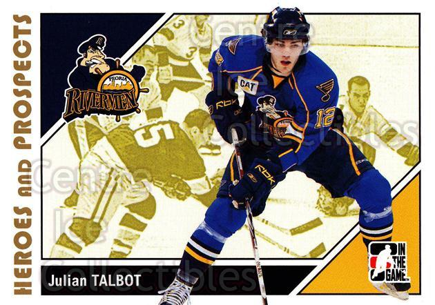 2007-08 ITG Heroes and Prospects #157 Julian Talbot<br/>21 In Stock - $1.00 each - <a href=https://centericecollectibles.foxycart.com/cart?name=2007-08%20ITG%20Heroes%20and%20Prospects%20%23157%20Julian%20Talbot...&price=$1.00&code=135057 class=foxycart> Buy it now! </a>