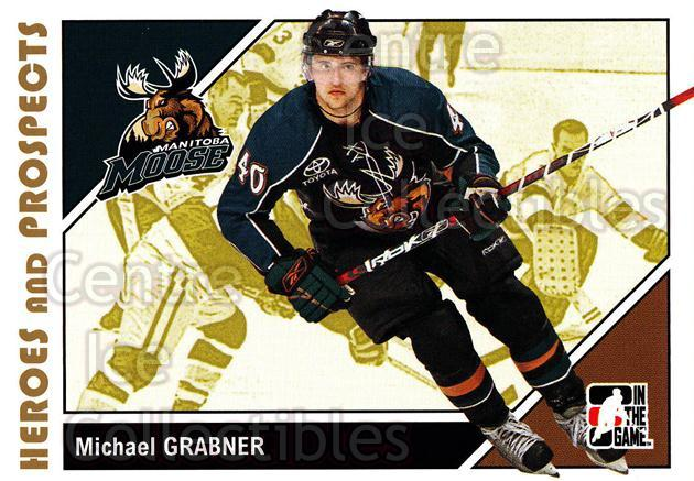 2007-08 ITG Heroes and Prospects #159 Michael Grabner<br/>21 In Stock - $1.00 each - <a href=https://centericecollectibles.foxycart.com/cart?name=2007-08%20ITG%20Heroes%20and%20Prospects%20%23159%20Michael%20Grabner...&price=$1.00&code=135059 class=foxycart> Buy it now! </a>
