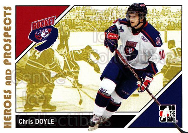 2007-08 ITG Heroes and Prospects #161 Chris Doyle<br/>21 In Stock - $1.00 each - <a href=https://centericecollectibles.foxycart.com/cart?name=2007-08%20ITG%20Heroes%20and%20Prospects%20%23161%20Chris%20Doyle...&price=$1.00&code=135062 class=foxycart> Buy it now! </a>