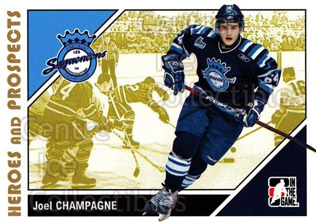2007-08 ITG Heroes and Prospects #163 Joel Champagne<br/>23 In Stock - $1.00 each - <a href=https://centericecollectibles.foxycart.com/cart?name=2007-08%20ITG%20Heroes%20and%20Prospects%20%23163%20Joel%20Champagne...&price=$1.00&code=135064 class=foxycart> Buy it now! </a>