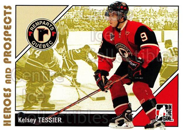 2007-08 ITG Heroes and Prospects #165 Kelsey Tessier<br/>19 In Stock - $1.00 each - <a href=https://centericecollectibles.foxycart.com/cart?name=2007-08%20ITG%20Heroes%20and%20Prospects%20%23165%20Kelsey%20Tessier...&price=$1.00&code=135066 class=foxycart> Buy it now! </a>