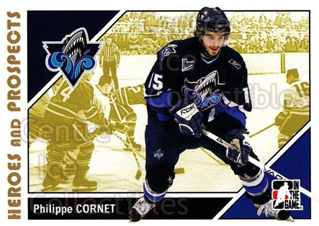 2007-08 ITG Heroes and Prospects #166 Philippe Cornet<br/>23 In Stock - $1.00 each - <a href=https://centericecollectibles.foxycart.com/cart?name=2007-08%20ITG%20Heroes%20and%20Prospects%20%23166%20Philippe%20Cornet...&price=$1.00&code=135067 class=foxycart> Buy it now! </a>