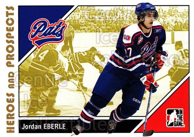 2007-08 ITG Heroes and Prospects #169 Jordan Eberle<br/>18 In Stock - $2.00 each - <a href=https://centericecollectibles.foxycart.com/cart?name=2007-08%20ITG%20Heroes%20and%20Prospects%20%23169%20Jordan%20Eberle...&quantity_max=18&price=$2.00&code=135070 class=foxycart> Buy it now! </a>