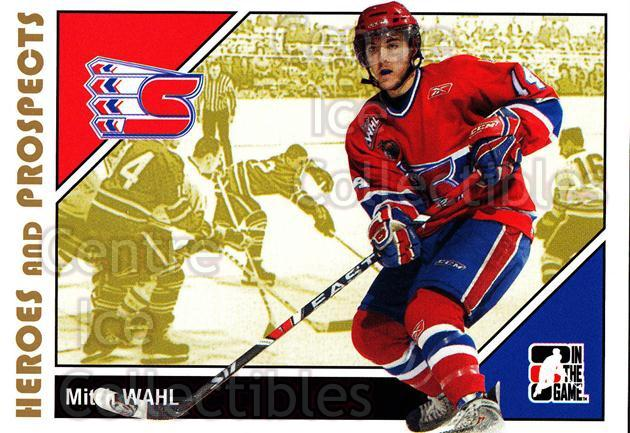 2007-08 ITG Heroes and Prospects #171 Mitch Wahl<br/>17 In Stock - $1.00 each - <a href=https://centericecollectibles.foxycart.com/cart?name=2007-08%20ITG%20Heroes%20and%20Prospects%20%23171%20Mitch%20Wahl...&price=$1.00&code=135073 class=foxycart> Buy it now! </a>