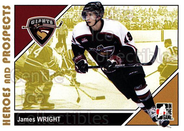 2007-08 ITG Heroes and Prospects #173 James Wright<br/>21 In Stock - $1.00 each - <a href=https://centericecollectibles.foxycart.com/cart?name=2007-08%20ITG%20Heroes%20and%20Prospects%20%23173%20James%20Wright...&price=$1.00&code=135075 class=foxycart> Buy it now! </a>