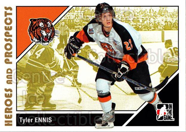 2007-08 ITG Heroes and Prospects #174 Tyler Ennis<br/>23 In Stock - $1.00 each - <a href=https://centericecollectibles.foxycart.com/cart?name=2007-08%20ITG%20Heroes%20and%20Prospects%20%23174%20Tyler%20Ennis...&price=$1.00&code=135076 class=foxycart> Buy it now! </a>