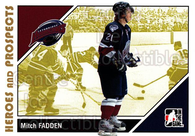 2007-08 ITG Heroes and Prospects #177 Mitch Fadden<br/>24 In Stock - $1.00 each - <a href=https://centericecollectibles.foxycart.com/cart?name=2007-08%20ITG%20Heroes%20and%20Prospects%20%23177%20Mitch%20Fadden...&price=$1.00&code=135079 class=foxycart> Buy it now! </a>