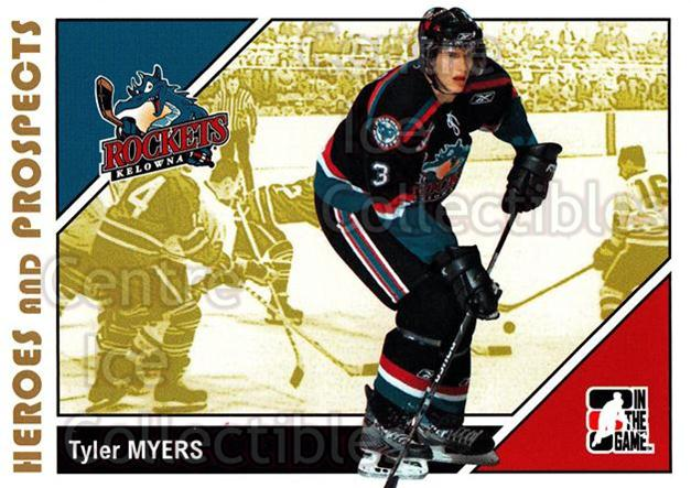 2007-08 ITG Heroes and Prospects #178 Tyler Myers<br/>20 In Stock - $1.00 each - <a href=https://centericecollectibles.foxycart.com/cart?name=2007-08%20ITG%20Heroes%20and%20Prospects%20%23178%20Tyler%20Myers...&price=$1.00&code=135080 class=foxycart> Buy it now! </a>