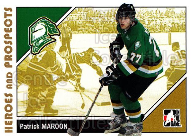 2007-08 ITG Heroes and Prospects #181 Patrick Maroon<br/>17 In Stock - $1.00 each - <a href=https://centericecollectibles.foxycart.com/cart?name=2007-08%20ITG%20Heroes%20and%20Prospects%20%23181%20Patrick%20Maroon...&price=$1.00&code=135083 class=foxycart> Buy it now! </a>