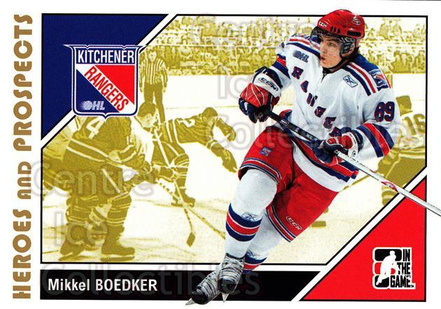 2007-08 ITG Heroes and Prospects #183 Mikkel Boedker<br/>21 In Stock - $1.00 each - <a href=https://centericecollectibles.foxycart.com/cart?name=2007-08%20ITG%20Heroes%20and%20Prospects%20%23183%20Mikkel%20Boedker...&price=$1.00&code=135084 class=foxycart> Buy it now! </a>