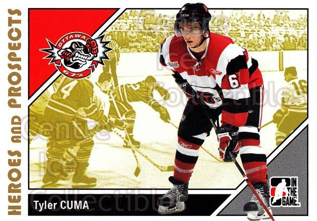 2007-08 ITG Heroes and Prospects #189 Tyler Cuma<br/>21 In Stock - $1.00 each - <a href=https://centericecollectibles.foxycart.com/cart?name=2007-08%20ITG%20Heroes%20and%20Prospects%20%23189%20Tyler%20Cuma...&price=$1.00&code=135087 class=foxycart> Buy it now! </a>