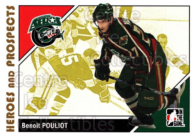 2007-08 ITG Heroes and Prospects #21 Benoit Pouliot<br/>22 In Stock - $1.00 each - <a href=https://centericecollectibles.foxycart.com/cart?name=2007-08%20ITG%20Heroes%20and%20Prospects%20%2321%20Benoit%20Pouliot...&price=$1.00&code=135092 class=foxycart> Buy it now! </a>