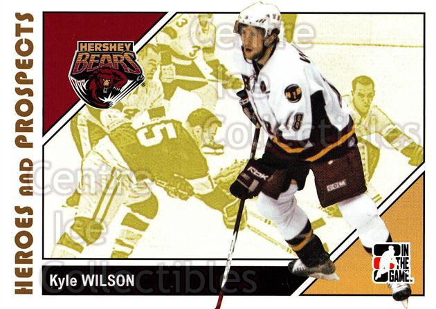 2007-08 ITG Heroes and Prospects #27 Kyle Wilson<br/>21 In Stock - $1.00 each - <a href=https://centericecollectibles.foxycart.com/cart?name=2007-08%20ITG%20Heroes%20and%20Prospects%20%2327%20Kyle%20Wilson...&price=$1.00&code=135097 class=foxycart> Buy it now! </a>