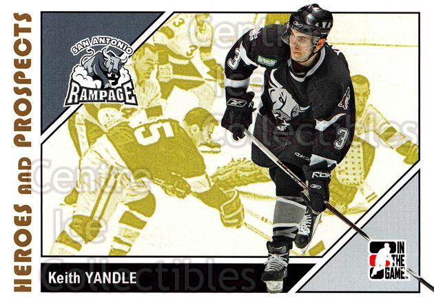 2007-08 ITG Heroes and Prospects #28 Keith Yandle<br/>22 In Stock - $1.00 each - <a href=https://centericecollectibles.foxycart.com/cart?name=2007-08%20ITG%20Heroes%20and%20Prospects%20%2328%20Keith%20Yandle...&price=$1.00&code=135098 class=foxycart> Buy it now! </a>