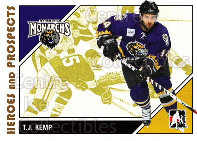 2007-08 ITG Heroes and Prospects #30 TJ Kemp<br/>21 In Stock - $1.00 each - <a href=https://centericecollectibles.foxycart.com/cart?name=2007-08%20ITG%20Heroes%20and%20Prospects%20%2330%20TJ%20Kemp...&price=$1.00&code=135101 class=foxycart> Buy it now! </a>