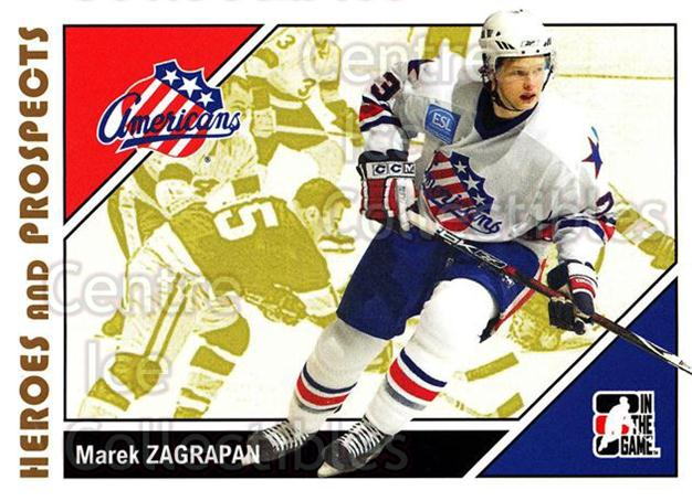 2007-08 ITG Heroes and Prospects #32 Marek Zagrapan<br/>20 In Stock - $1.00 each - <a href=https://centericecollectibles.foxycart.com/cart?name=2007-08%20ITG%20Heroes%20and%20Prospects%20%2332%20Marek%20Zagrapan...&price=$1.00&code=135103 class=foxycart> Buy it now! </a>