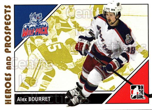 2007-08 ITG Heroes and Prospects #36 Alex Bourret<br/>22 In Stock - $1.00 each - <a href=https://centericecollectibles.foxycart.com/cart?name=2007-08%20ITG%20Heroes%20and%20Prospects%20%2336%20Alex%20Bourret...&price=$1.00&code=135107 class=foxycart> Buy it now! </a>
